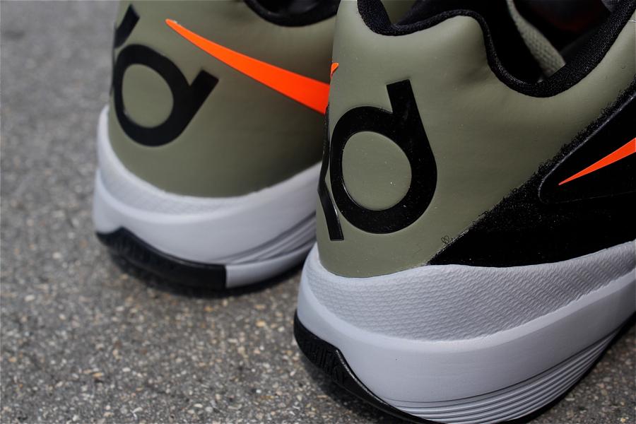 5a179d1266d6 Nike Zoom KD IV  Rogue Green Total Orange-Black-Wolf Grey ...