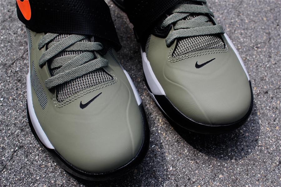 Nike Zoom KD IV 'Rogue Green/Total Orange-Black-Wolf Grey'