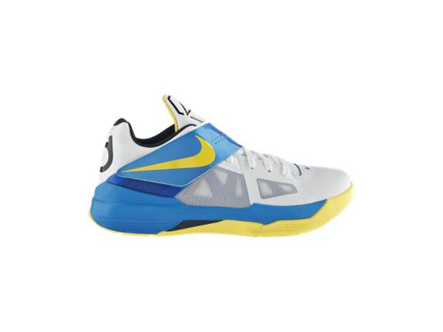 Nike Zoom KD IV 'White/Photo Blue-Midnight Navy-Tour Yellow' - Now Available