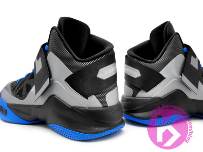 Nike Zoom Soldier 6 'Black/Silver-Blue'