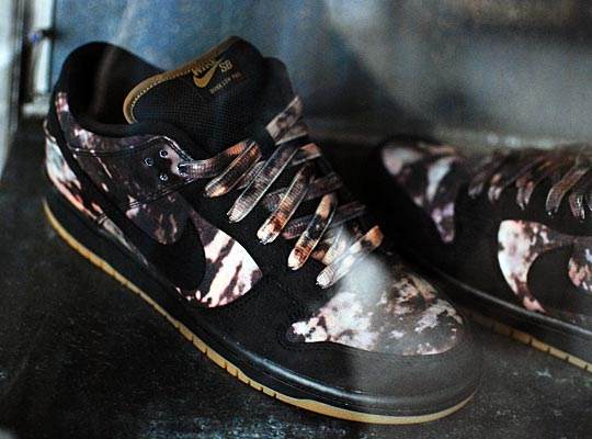 Pushead x Nike SB Dunk Low 'Bleached' - Updated Release Info