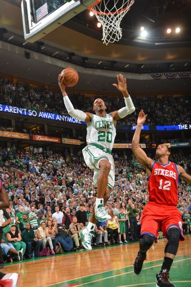 Ray Allen in 'Home' Air Jordan 2012 PE for Game 5
