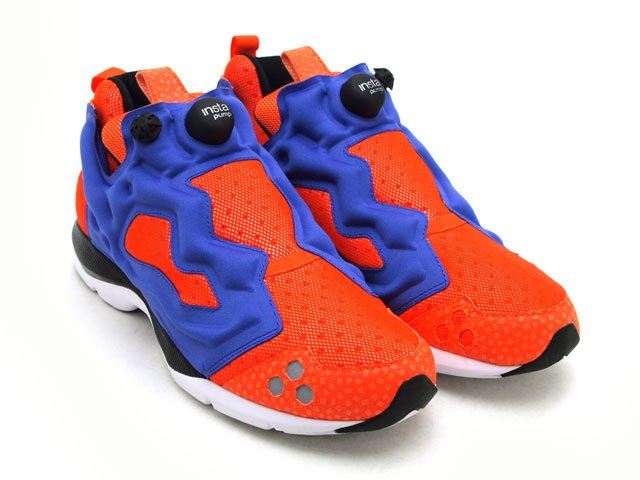 reebok insta pump fury orange