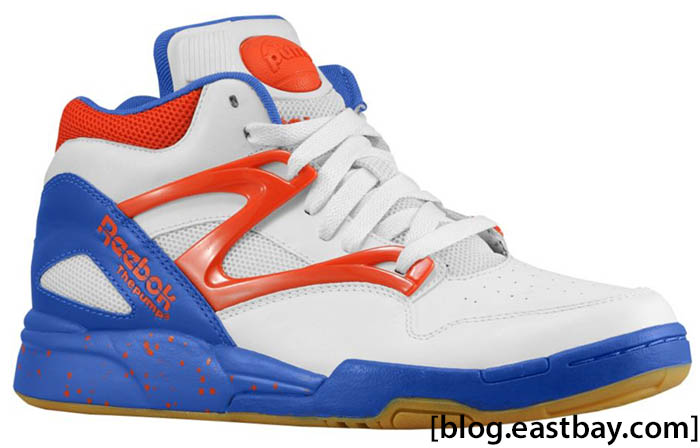 Reebok Pump Omni Lite  White Royal Orange   99579a401