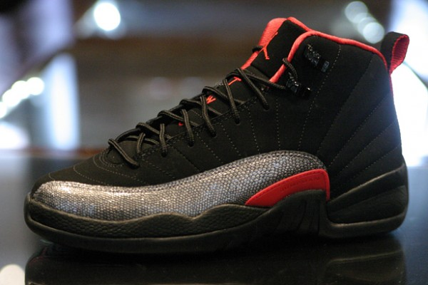 Release Reminder: Air Jordan 12 GS 'Black/Siren Red'