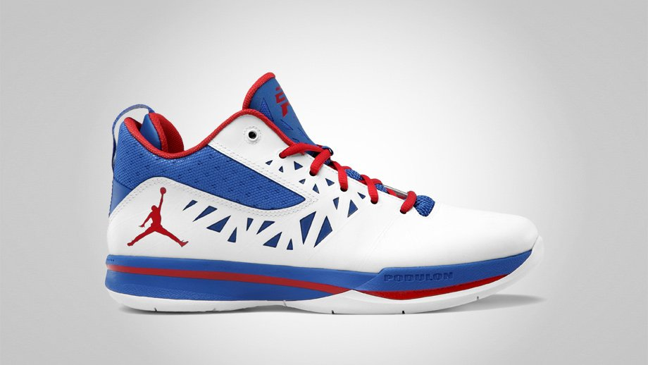 Release Reminder: Jordan CP3.V 'White/Sport Red-Treasure Blue'