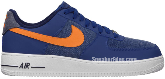 Release Reminder: Nike Air Force 1 Low 'Storm Blue/White-Vivid Orange'