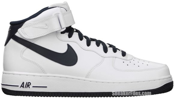 Release Reminder: Nike Air Force 1 Mid 'White/Dark Obsidian'