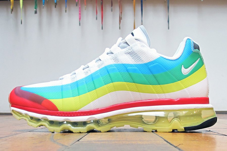 release date 08d7d 64261 Release Reminder: Nike Air Max+ (95) 360 'What The Max' | SneakerFiles