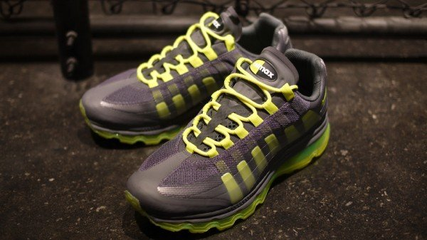 Release Reminder: Nike Air Max 95+ BB 'Dark Grey/Volt-Wolf Grey-Anthracite'