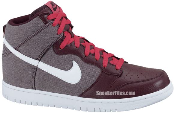 Release Reminder: Nike Dunk High 'Red Mahogany/White-Red Mahogany'