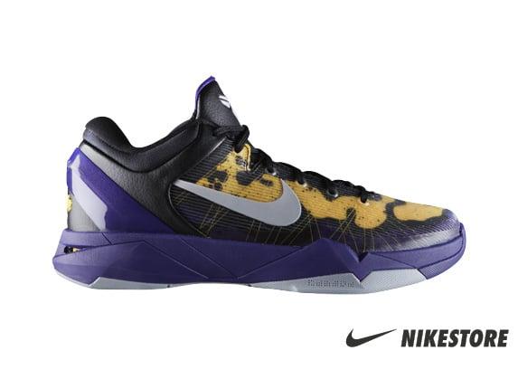 Release Reminder: Nike Kobe 7 Poison Dart Frog 'Lakers'
