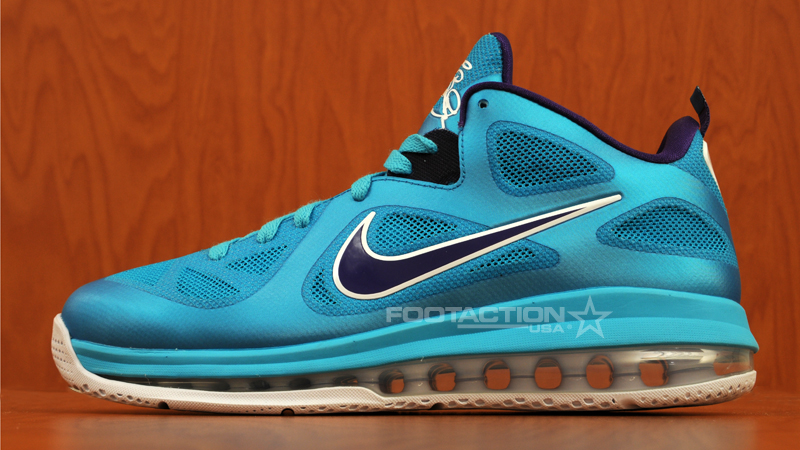 new concept d3fdb fb0ab Release Reminder  Nike LeBron 9 Low  Summit Lake Hornets