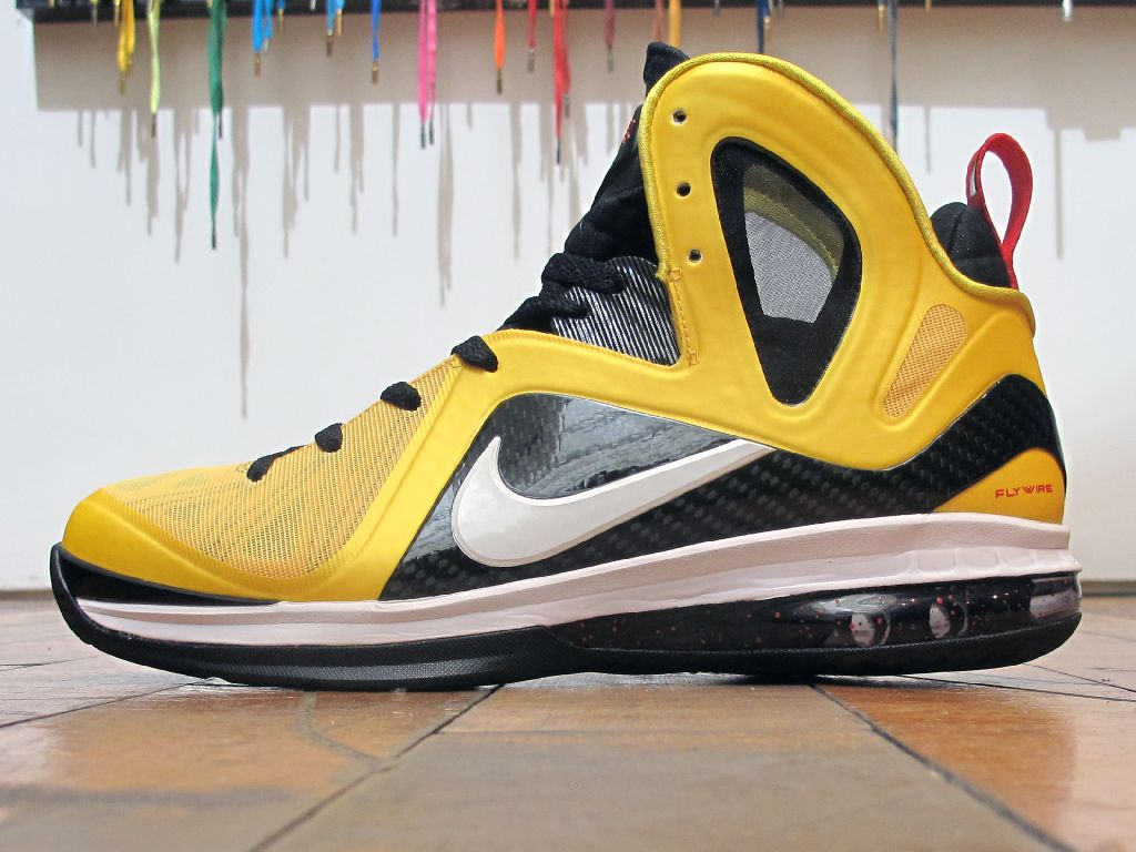 Release Reminder: Nike LeBron 9 P.S. Elite 'Varsity Maize'
