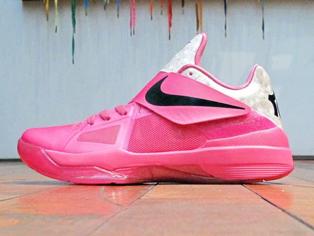 ed9a1578b1c Nike KD 4 IV Aunt Pearl Release Date Info