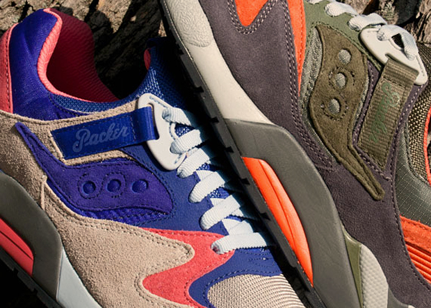 Release Reminder: Packer Shoes x Saucony Grid 9000 Trail Pack