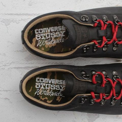 Release Reminder: Stussy x Converse Elm LS OX 'Black'