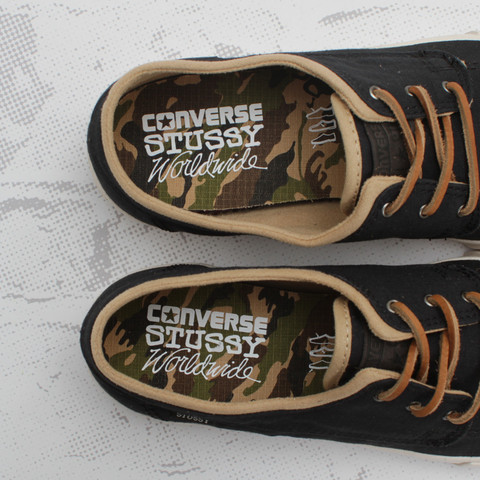 Release Reminder: Stussy x Converse Sea Star LS OX 'Black'