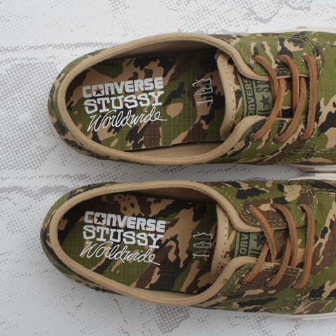 Release Reminder: Stussy x Converse Sea Star LS OX 'Camo'
