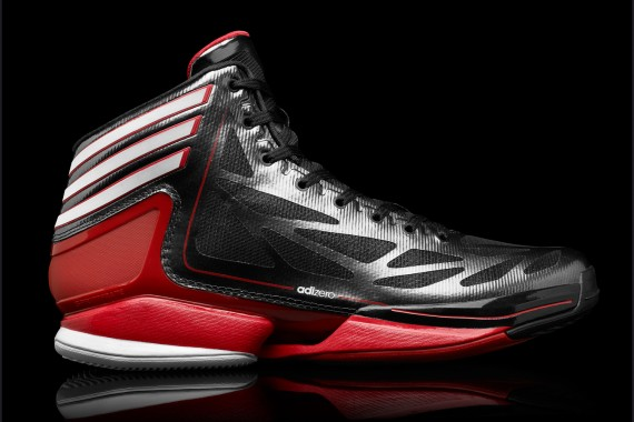 Release Reminder  adidas adiZero Crazy Light 2  Black White Scarlet ... c81fc0f07f