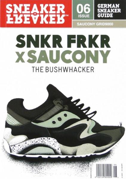Sneaker Freaker x Saucony Grid 9000 'Bushwhacker'