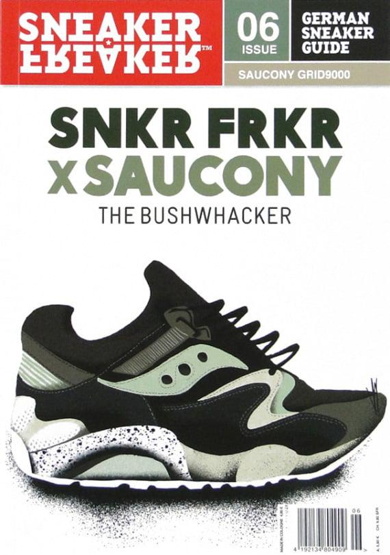 ... Sneaker Freaker x Saucony Grid 9000 Bushwhacker SneakerFile ... 42a87f1910