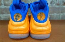 Spike Lee's Orange and Blue Nike Air Foamposite One