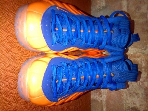 9e7f6b819 Spike Lee s Orange and Blue Nike Air Foamposite One