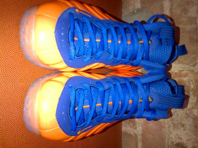 wholesale dealer 22d64 255a5 Spike Lee's Orange and Blue Nike Air Foamposite One | SneakerFiles