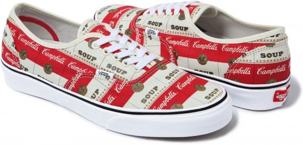 Supreme x Vans Campbell's Soup Collection - Release Date + Info