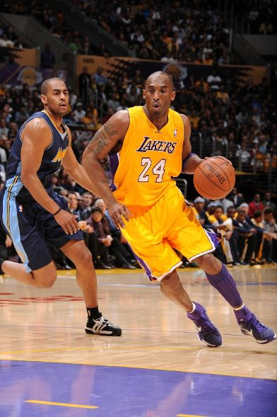 The Black Mamba Dons Play Strong Kobe 7 iD in Game 2