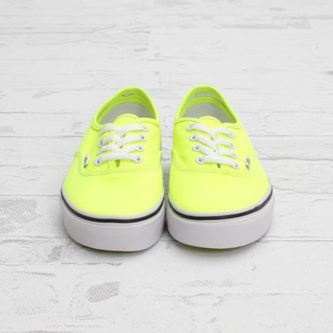 Vans Authentic Neon 'Yellow/True White'