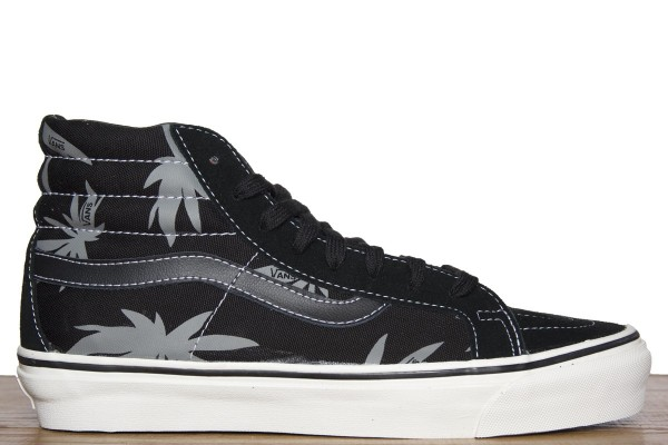 Vans Vault Sk8-Hi LX OG 'Palm Leaf' Black/White