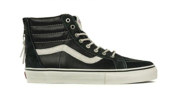 Vans Vault Sk8-Hi Zip LX  Black   3145615c87