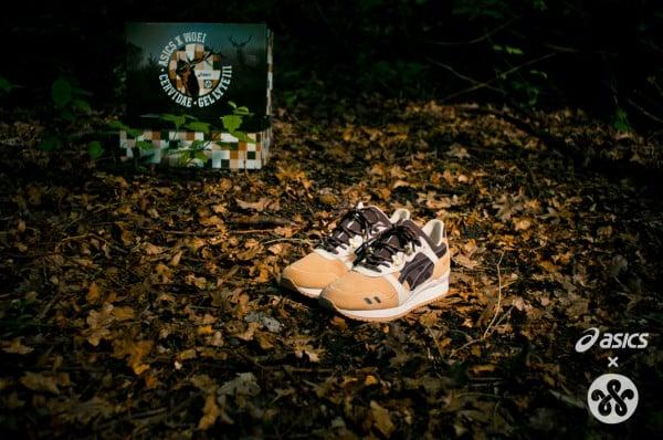 WOEI x ASICS Gel Lyte III 'Cervidae' - Release Date + Info