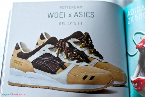 WOEI x ASICS Gel Lyte III 'Cervidae' - First Look
