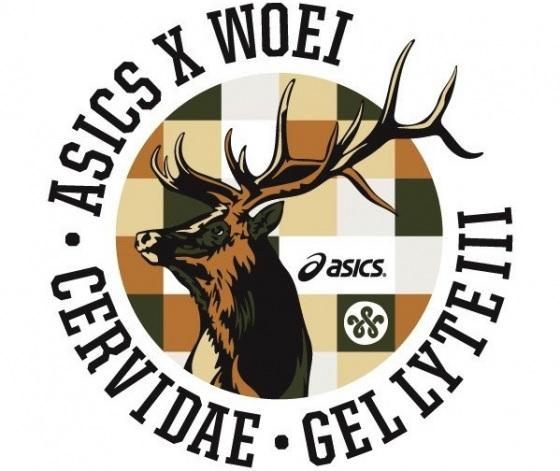 WOEI x ASICS Gel Lyte III 'Cervidae' - First Look