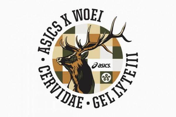WOEI x ASICS Gel Lyte III 'Cervidae' Teaser