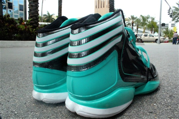 adidas adiZero Crazy Light 2 'Black/Hyper Green'
