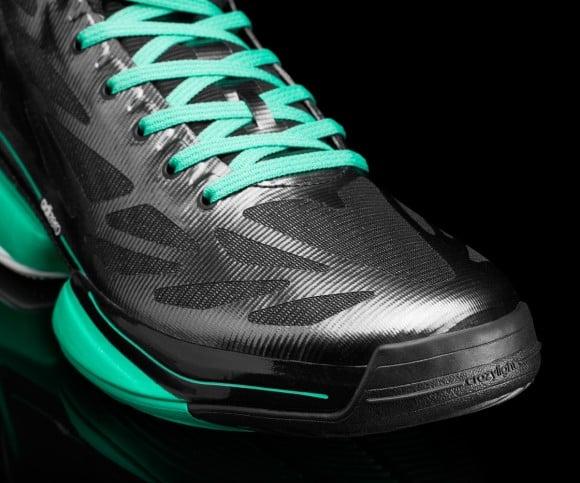 adidas adiZero Crazy Light 2 'Black/Hyper Green/White'