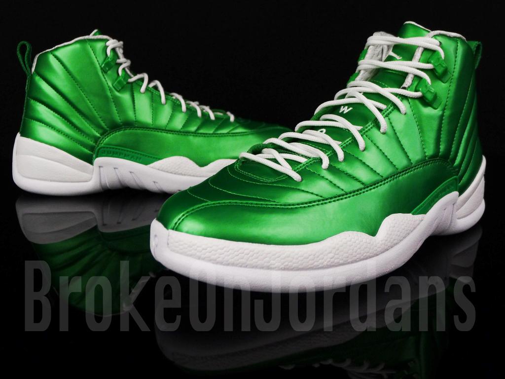 Air Jordan 12 'Metallic Green' Sample