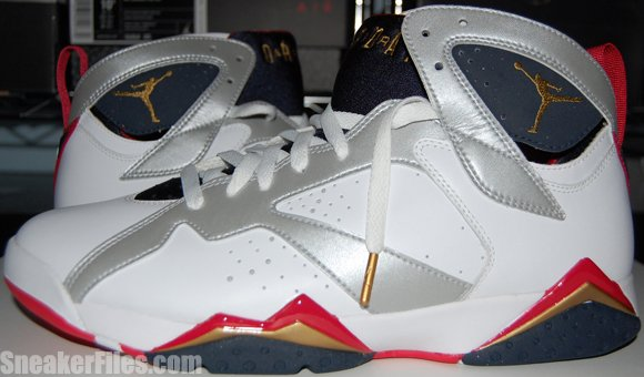 283181f496ade5 Olympic Air Jordan 7 (VII) 2012 - Epic Look