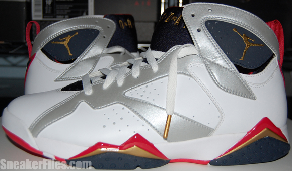 Air Jordan VII (7) Olympic 2012 - Epic Look