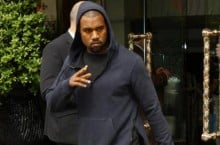 Celebrity Sneaker Watch: Kanye West Goes For Run in Nike Free Run 2