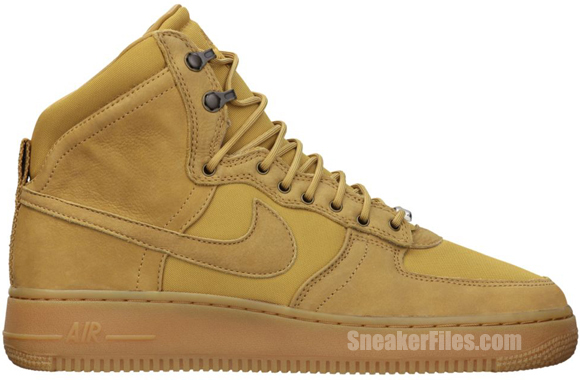 Nike Air Force 1 Hi DCN 'Golden Harvest/Golden Harvest'