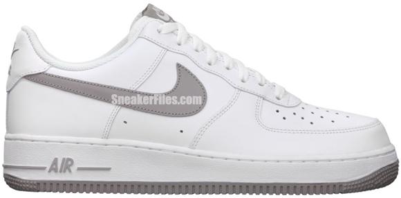Release Reminder: Nike Air Force 1 Low 'White/Medium Grey-White'