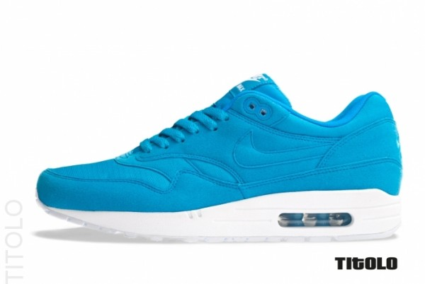 all blue nike air max 1
