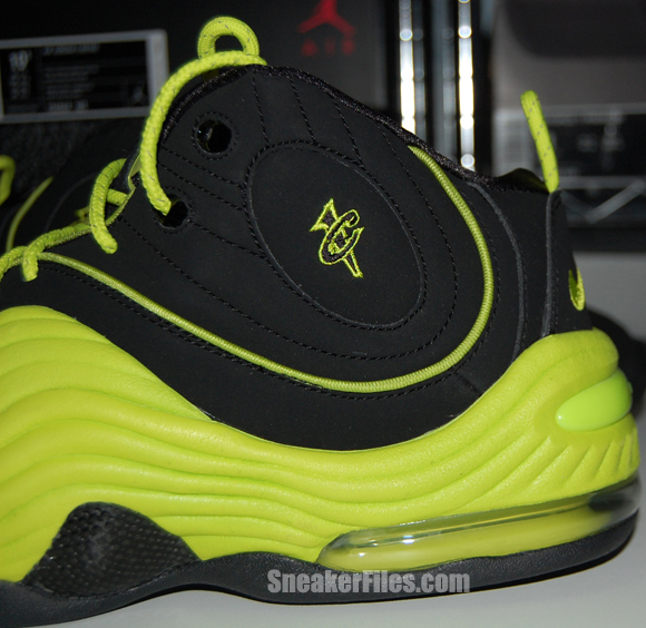 Nike Air Penny 2 QS Black Cyber Epic Look