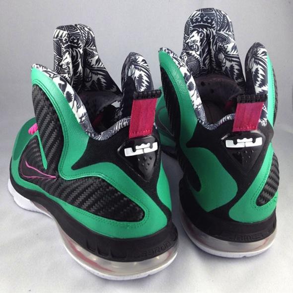 Nike LeBron 9 'South BeeeeGum' Custom by Mache | SneakerFiles