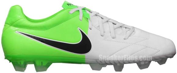 Nike T90 Laser IV KL-FG 'White/Black-Electric Green'
